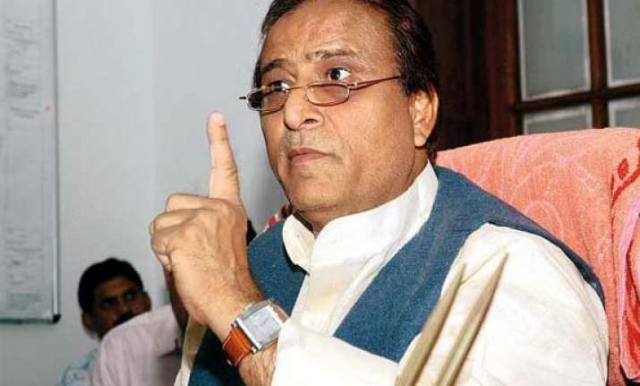 azam khan denies sting claim over muzaffarnagar riots