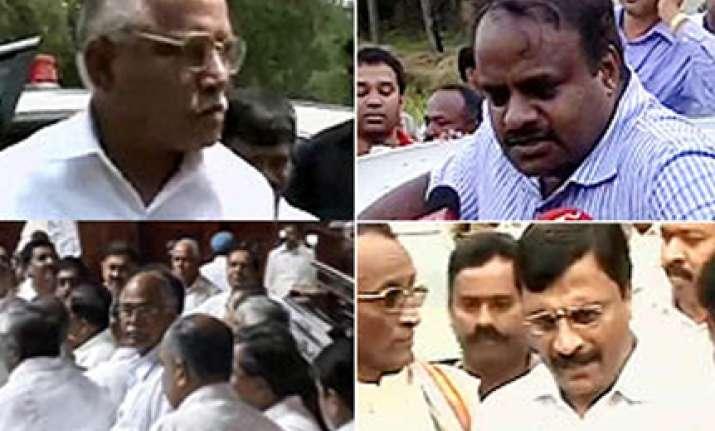 karnataka speaker declares cm has won trust vote amidst