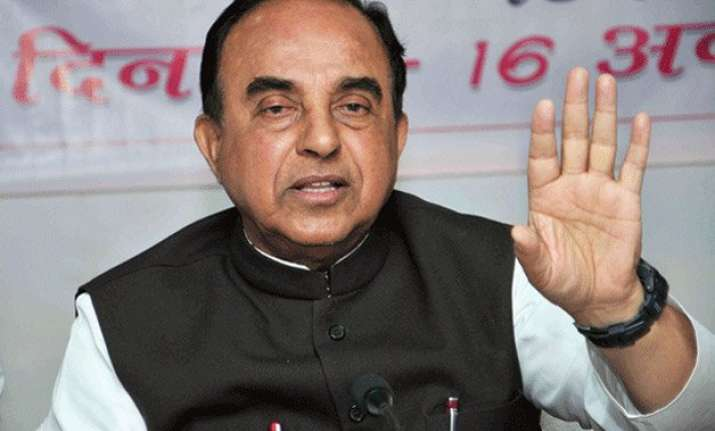 rahul gandhi was caught in us with drugs subramanian swamy