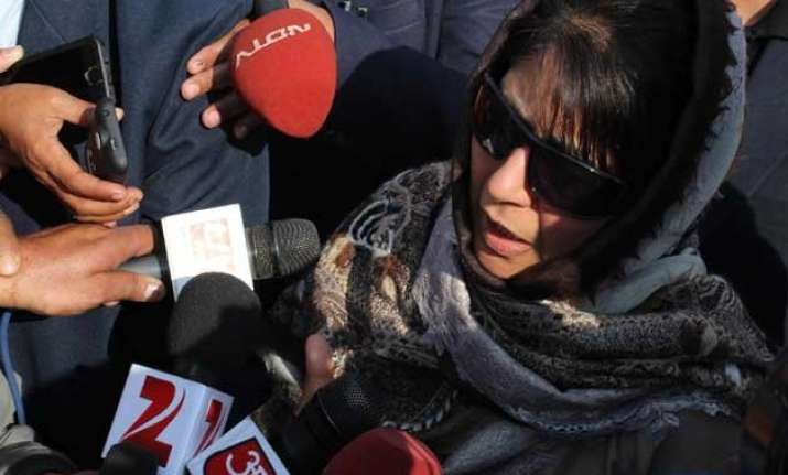 pdp does not have numbers to form govt on its own mehbooba