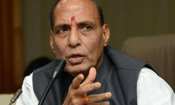 strongest action against those who disrupt harmony rajnath