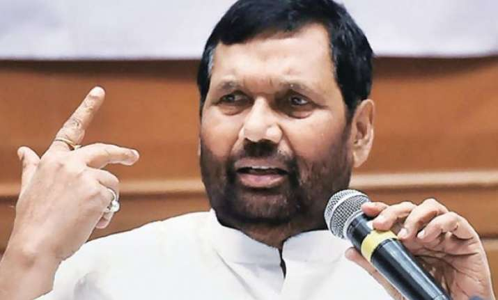 ram vilas paswan says jungle raj is back in bihar after