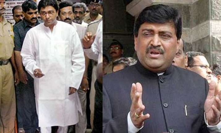 only section of media wants chavan to go says raj thackeray