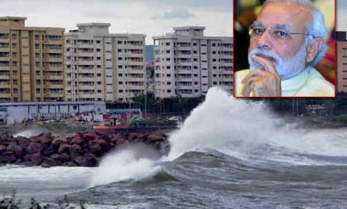 pm narendra modi to assess post hudhud situation in vizag