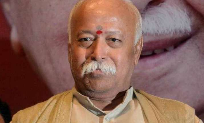 rss chief mohan bhagwat s comment on mother teresa sparks