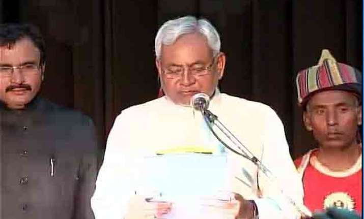 nitish returns as bihar cm
