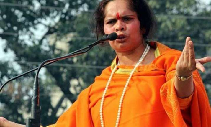 sadhvi prachi stokes another controversy says there are 1 2