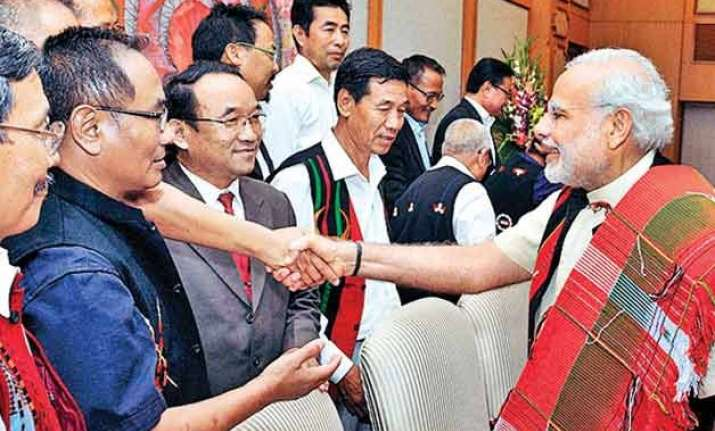 bjp clarifies on naga peace accord after government accused