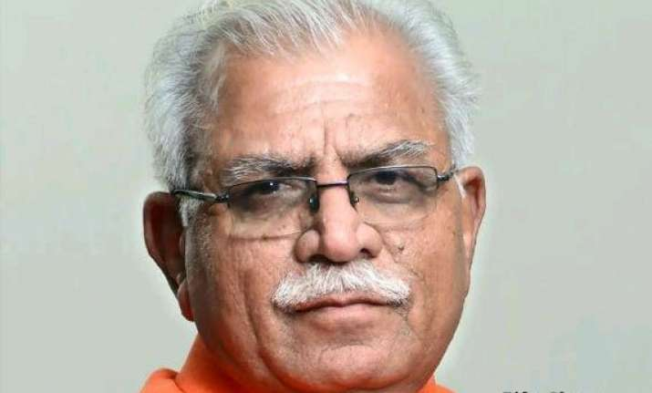 haryana gets another lal in new cm