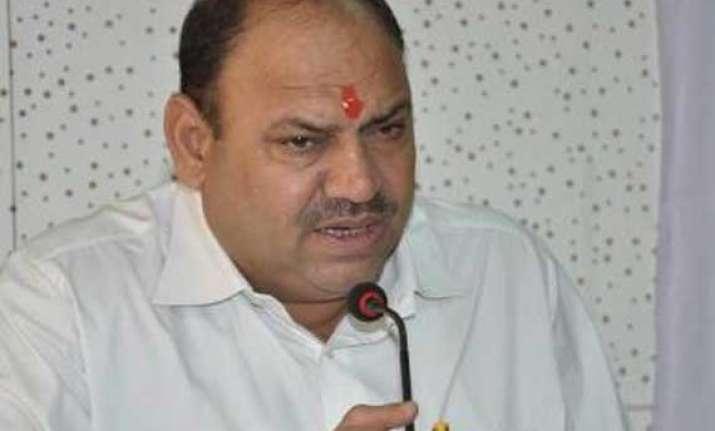 bjp aap to blame for stalled development work in delhi