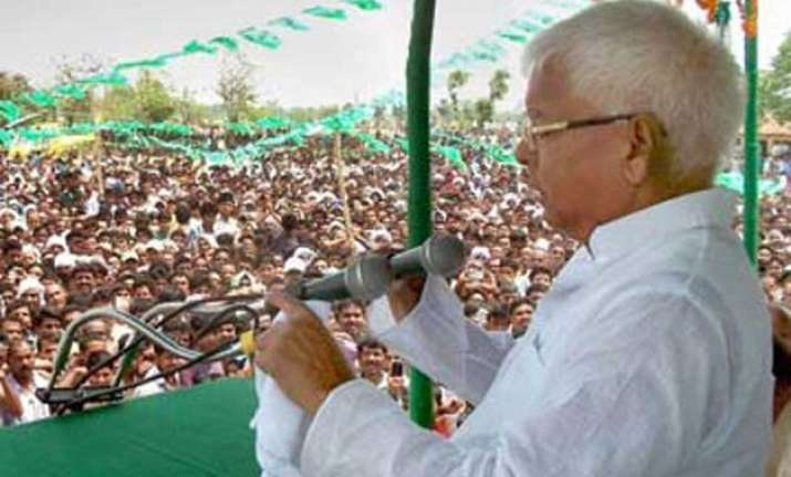 bihar polls ec issues show cause notice to lalu yadav for