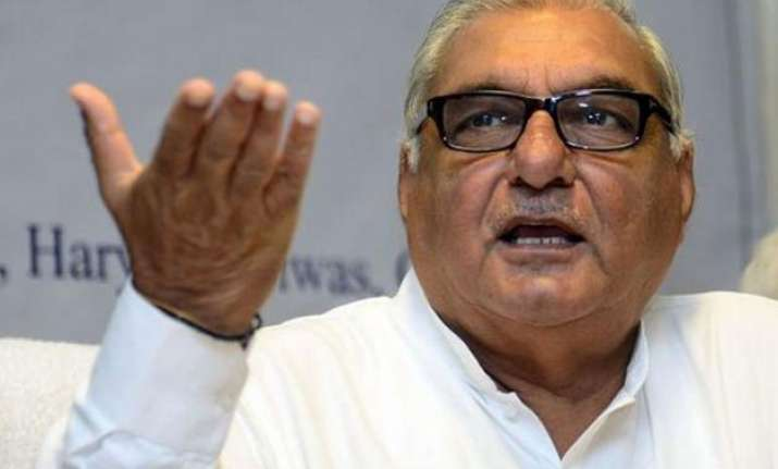 haryana bjp govt performance sheet is blank ex cm hooda