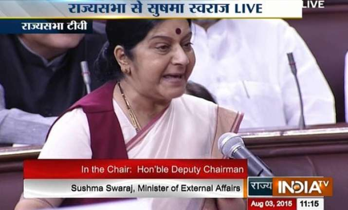 did not help lalit modi to get travel documents sushma