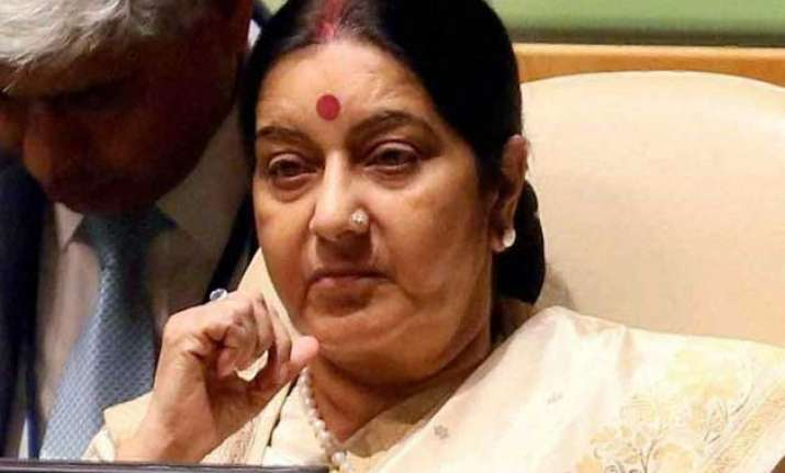 sushma swaraj warns people against mahagathbandhan