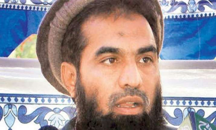 sena stages protest against release of lakhvi