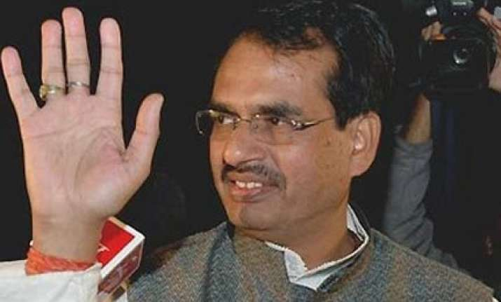 no truth in arjun singh s claim on state plane chouhan