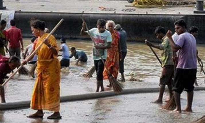 germany proposes to clean a segment of river ganga