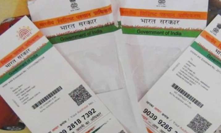 mha reverses stand on aadhaar lends full support