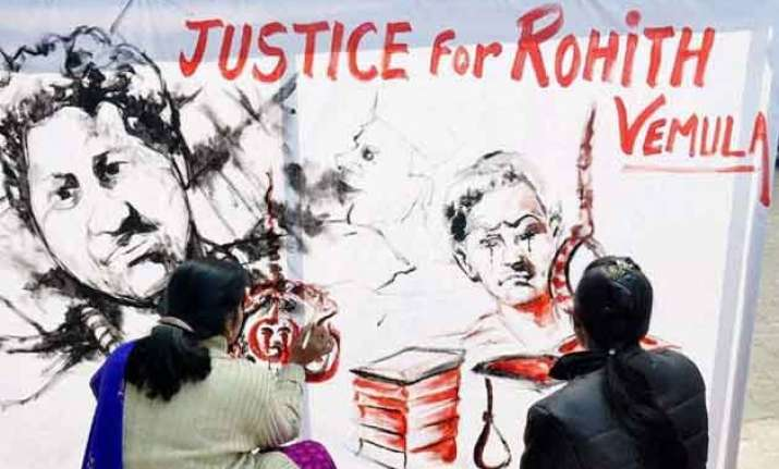 rohith s family declines varsity s ex gratia grant slams pm