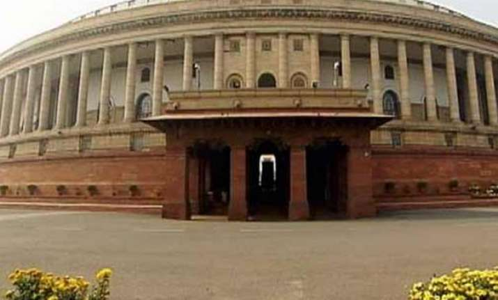 opposition disrupts lok sabha over lalitgate vyapam issues