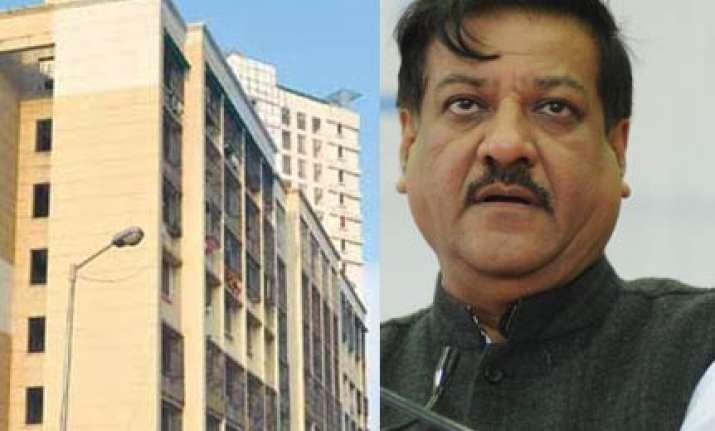 chavan may return flat in mumbai