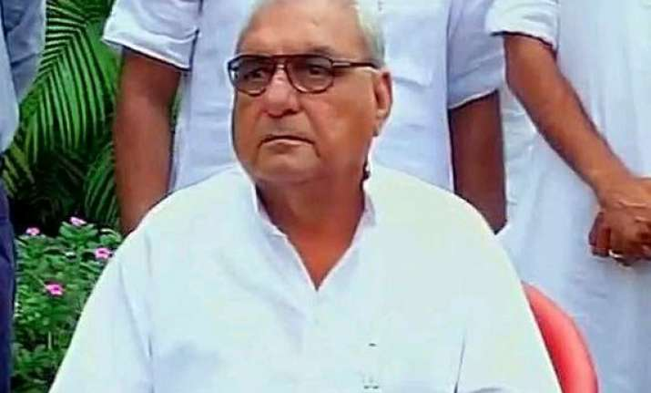 bjp gets simple majority in haryana hooda resigns