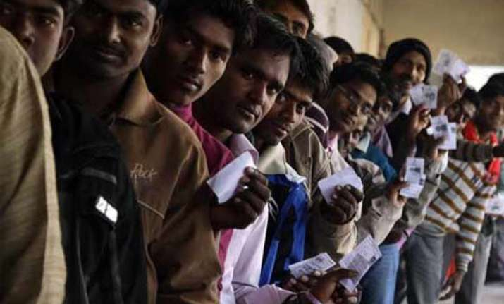 brisk polling in jharkhand
