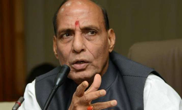 rajnath slams vk singh rijiju for their controversial