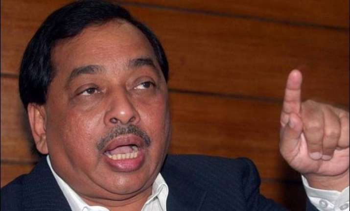 narayan rane accuses eknath khadse of recommending unit