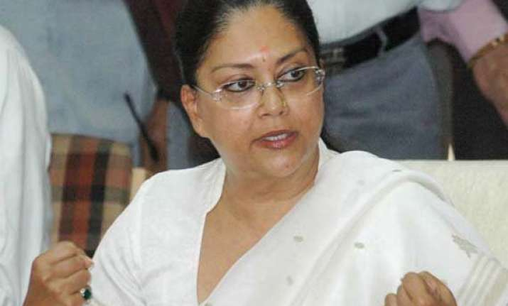 raje government announces projects galore on first