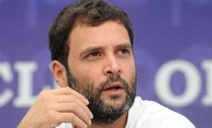 modi government is anti students anti poor accuses rahul