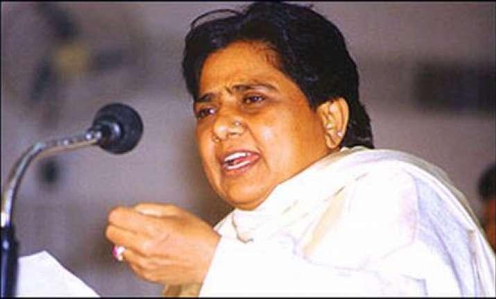 cong bjp sp anti ambedkar says mayawati