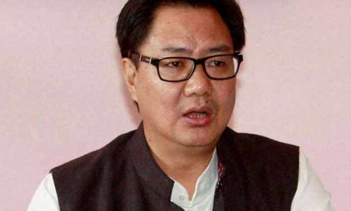 impression of govt protecting tainted ministers wrong rijiju