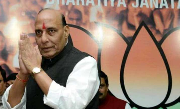 rajnath asks haryana governor karnataka cm to ensure safety