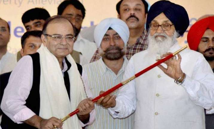 akali dal bjp is a social alliance arun jaitley
