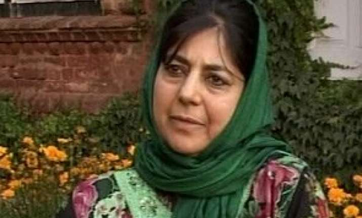 india pak must try peace instead of hostility mehbooba mufti