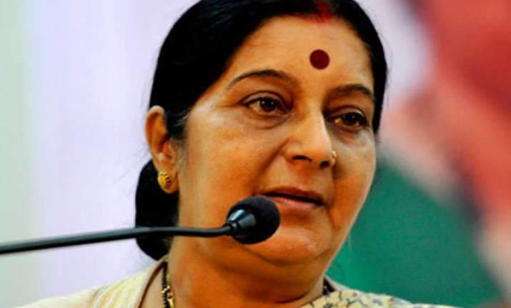 process on to bring back indian woman from pakistan sushma