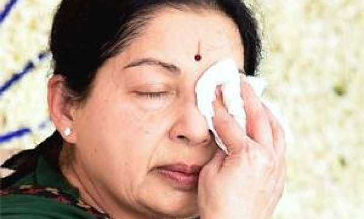 jayalalithaa conviction aiadmk calls for 12 hour bandh