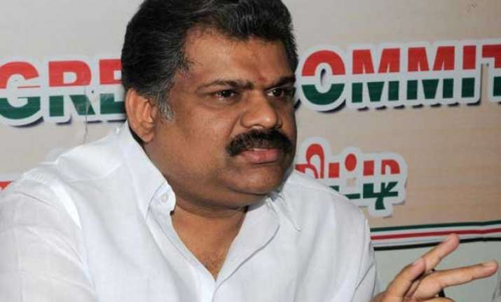 centre bjp showing double standards in alam row g k vasan