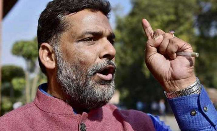rjd mp pappu yadav meets modi sparks speculation