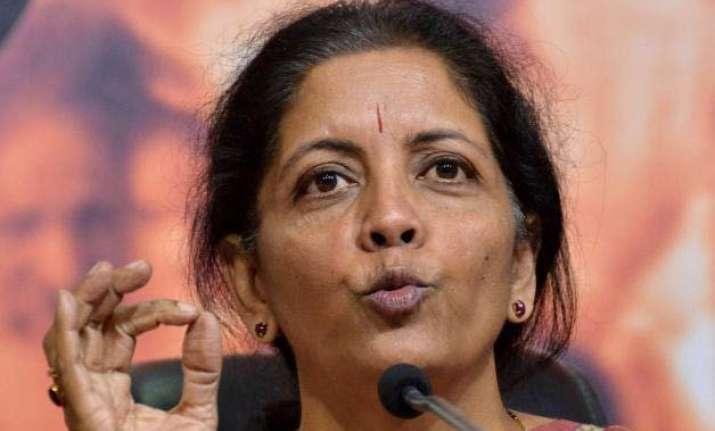 nirmala seetharaman dares rahul gandhi to visit congress