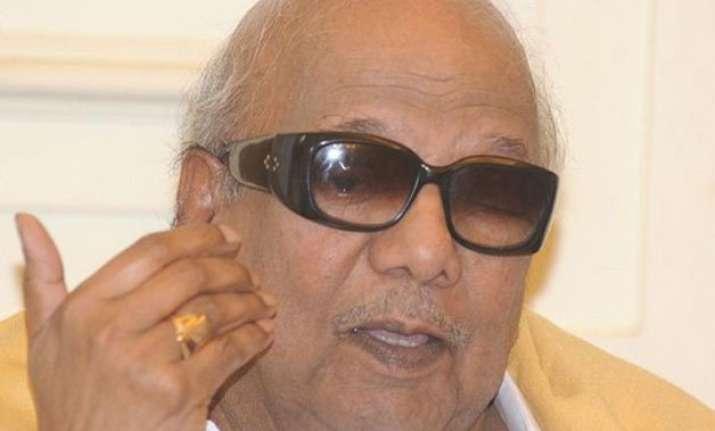 why this urgency in jayalalithaa case m.karunanidhi