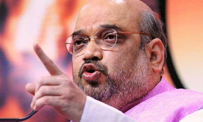 bjp a champion of backward castes says amit shah
