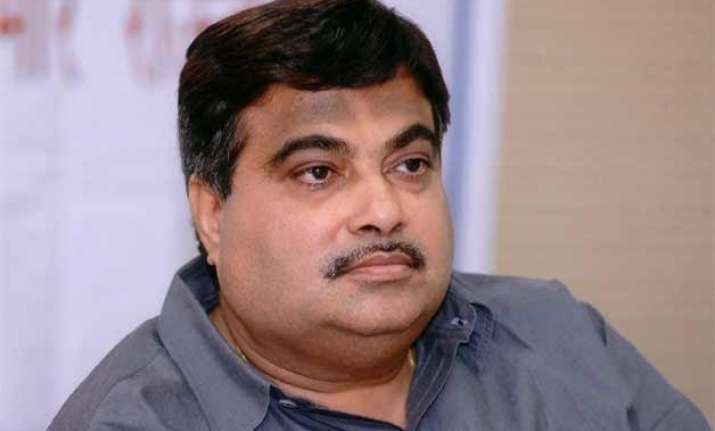conspiracy behind his name appearing in a cag report gadkari