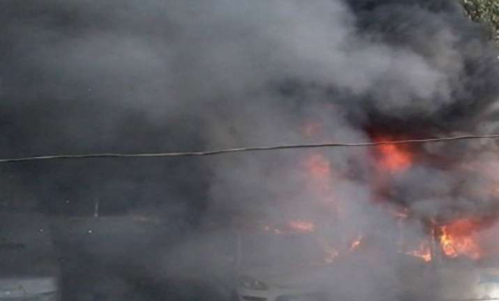 bomb blast at tmc leader buro hansda s residence in birbhum