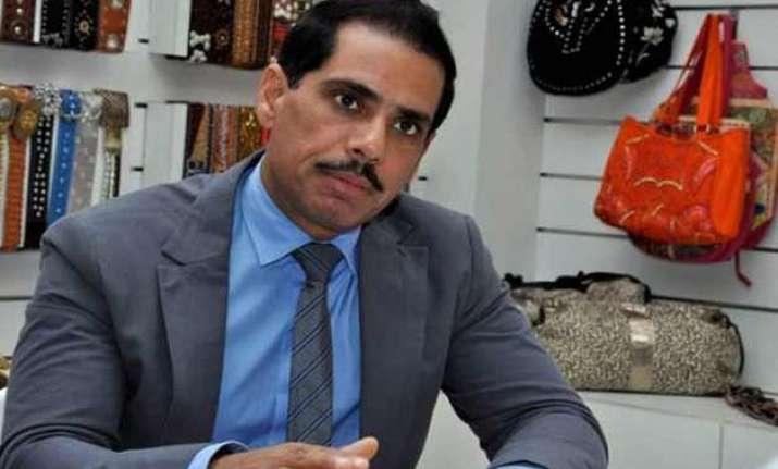 retired sc judge to probe land deals of robert vadra