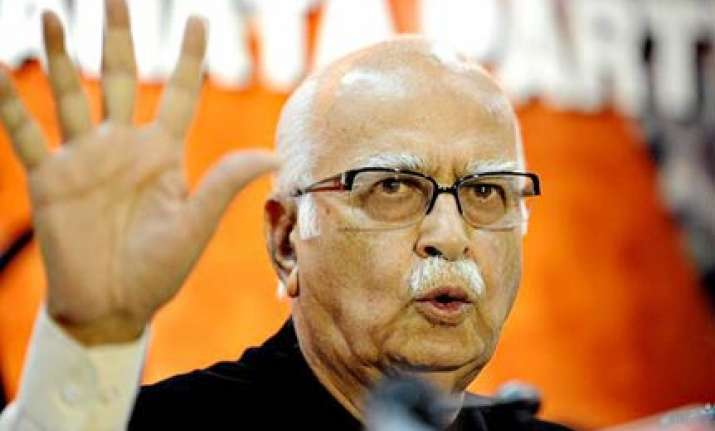 bihar poll results unexpected for bjp jd u says advani