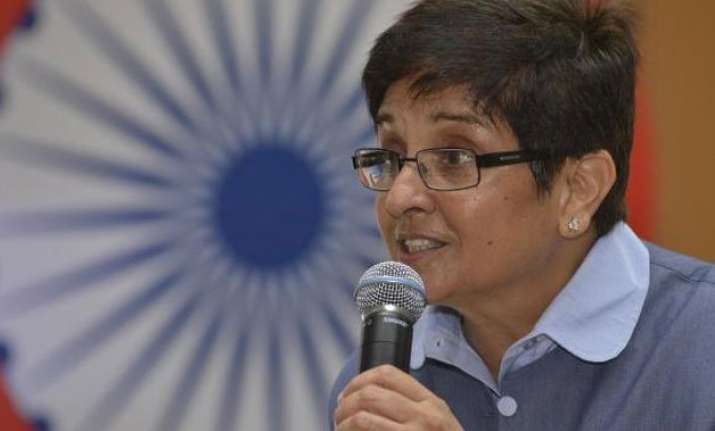 delhi polls bjp leader kiran bedi to kick off her election