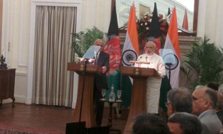 india shares afghanistan s pain over terror pm modi