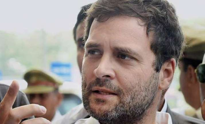 ftii row rss and its wings promote mediocrity says rahul